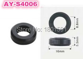 50pieces/set  top feed mpi rubber seals o-ring for  fuel injector service kit  (AY-S4006,16*8.5*5.5mm)
