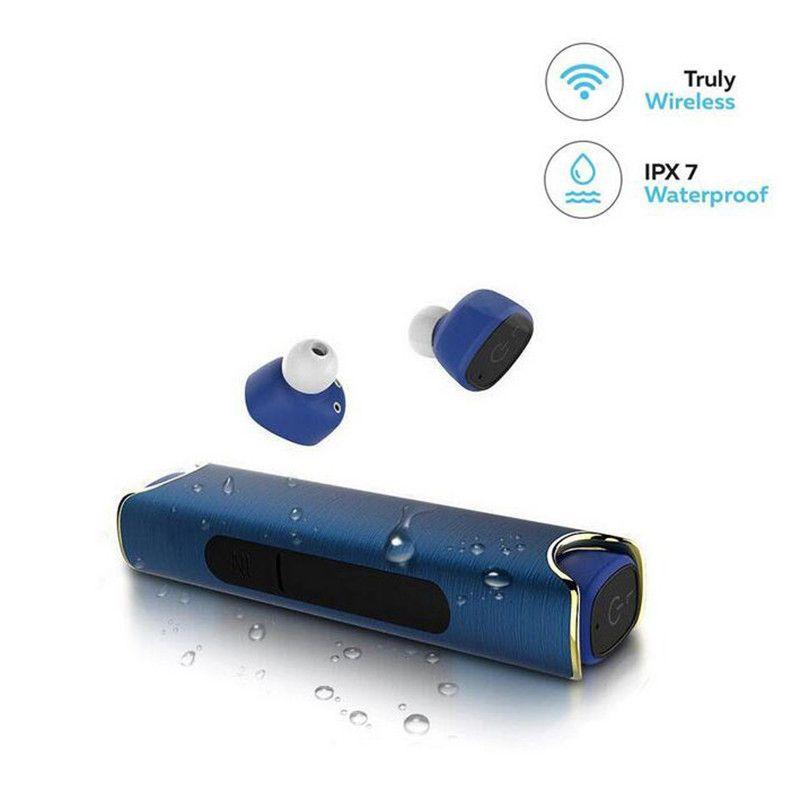 Mini Bluetooth Headset Earpiece Bluetooth 4.2 Earphone IPX7 Waterproof Mini TWS Earbuds For Xiaomi sony xaomi Mobile Phone