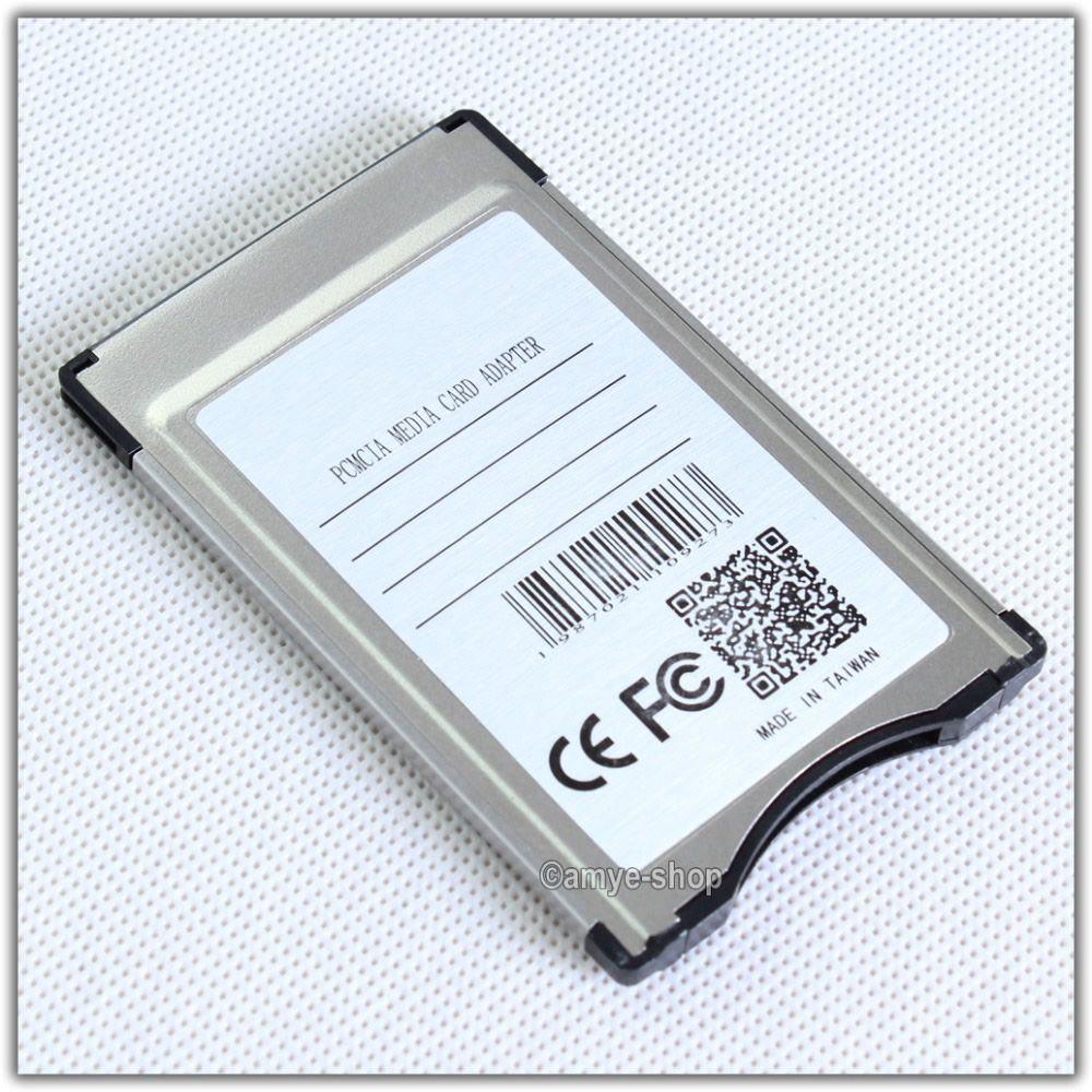 Reyann PCMCIA convertir en adaptateur de carte SD pour Mercedes Benz S E C GLK CLS classe commande système APS avec support de fente PCMCIA 32 GB