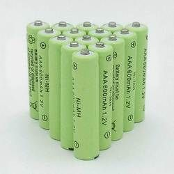 10 pcs un lot AAA Rechargeable Batterie AAA NiMH 1.2 V 600 mAh Ni-MH 3A Pré-chargé Bateria Rechargeable Batteries