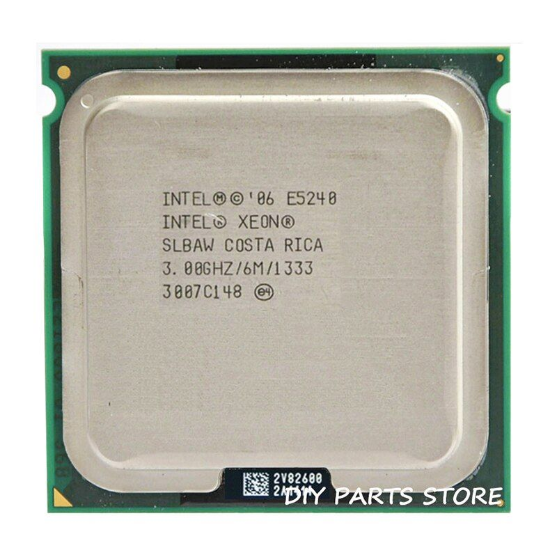 INTEL XONE E5420 CPU INTEL E5420 PROCESSOR quad core 2.5MHZ LeveL2 12M Work on 775 with 2pcs adaperts