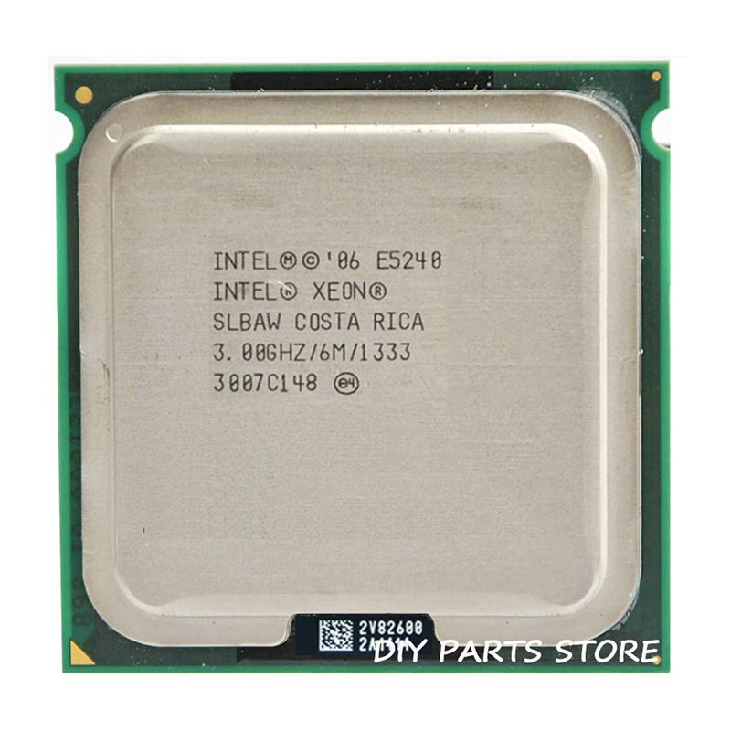 INTEL XONE E5420 CPU INTEL E5420 PROZESSOR quad core 2,5 MHZ LeveL2 12 Mt Arbeit auf 775 mit 2 stücke adaperts