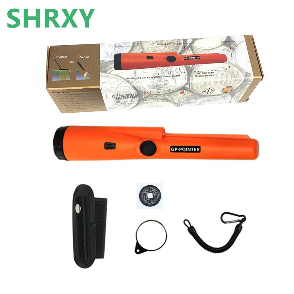 SHRXY Pointer Pinpointing Metal Detector GP-pointer Pro Static State Gold Wall Metal Detector super wall gold scanner