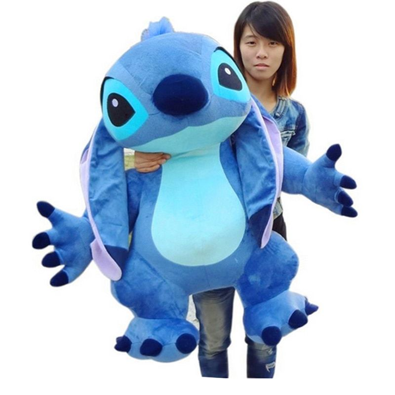 Fancytrader Real Pictures 35'' Jumbo Giant Stitch Plush Stuffed Soft Cute Toy 90cm, Nice Gift For Kids, Free Shipping