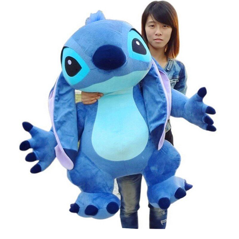 Fancytrader Real <font><b>Pictures</b></font> 35'' Jumbo Giant Stitch Plush Stuffed Soft Cute Toy 90cm, Nice Gift For Kids, Free Shipping