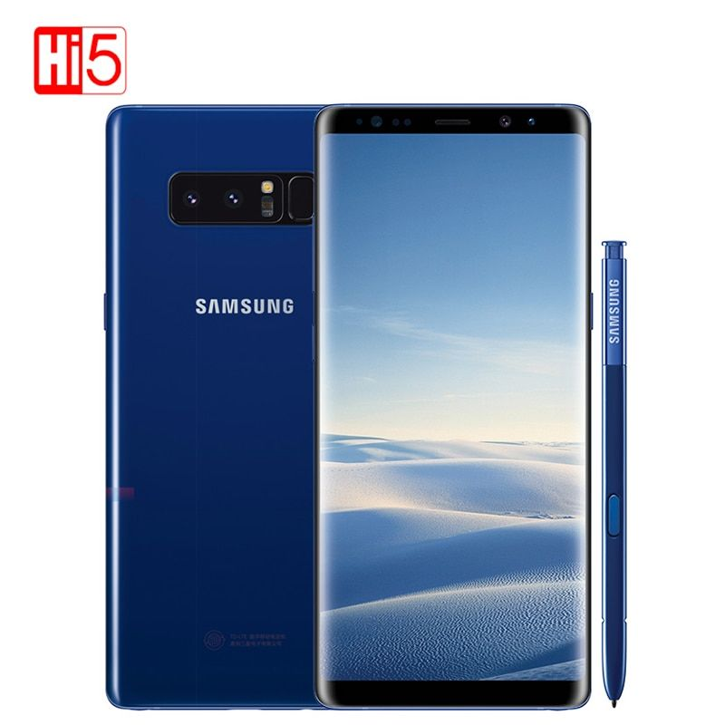 Unlocked Samsung Galaxy note 8 N9500 6G RAM 64G ROM Dual back cameras 12MP 3300mAh Original mobile smartphone Octa Core