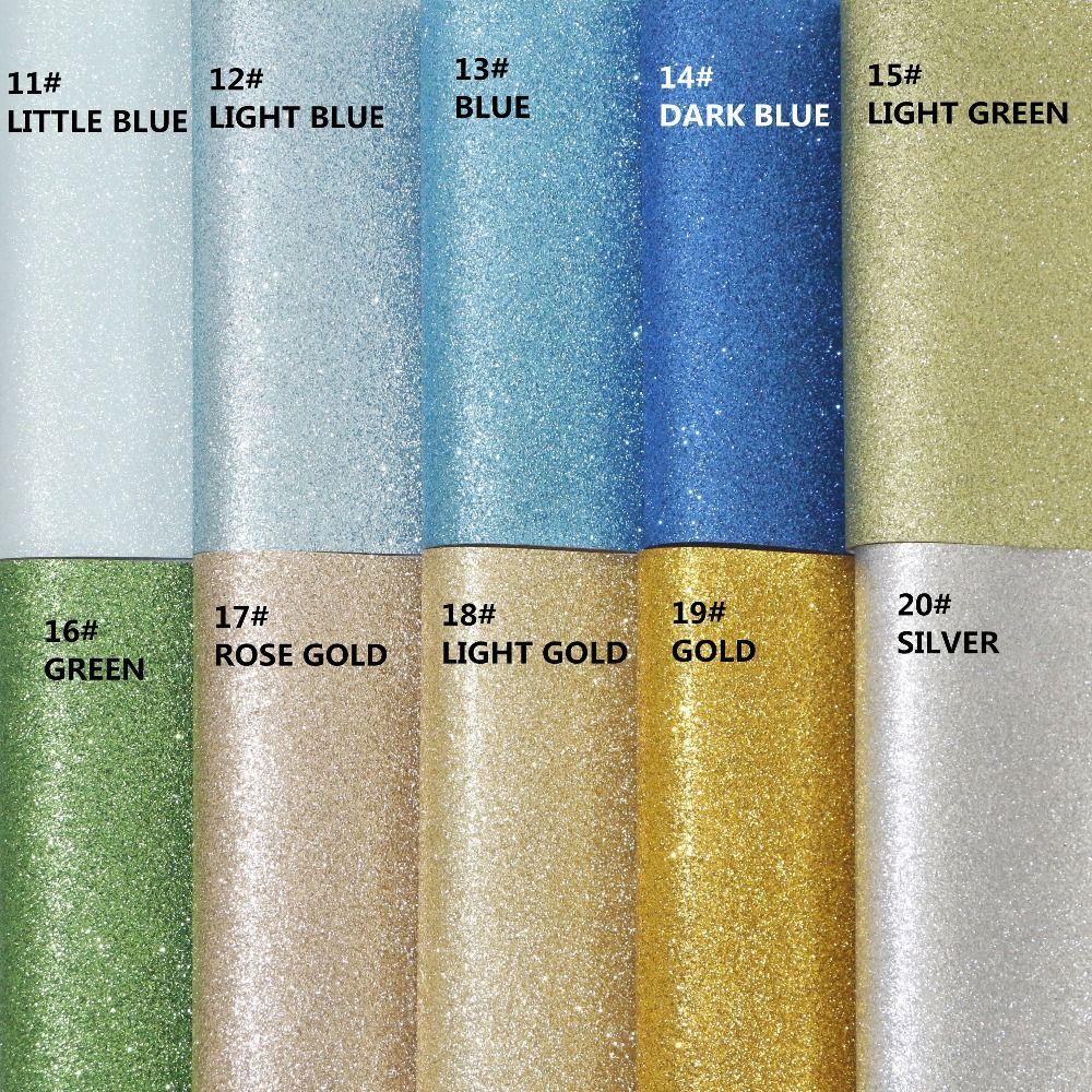 19 pcs/set-20X22 CM Haute Qualité DIY glitter artificielle en cuir/PU glitter en cuir/faux cuir (peut choisir la couleur)