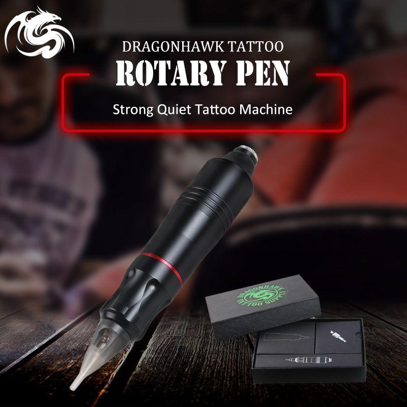 One pcs Tattoo Rotary Pen Hybrid Permanent Makeup Tattoo Machine Strong Quiet Motor <font><b>Supply</b></font>