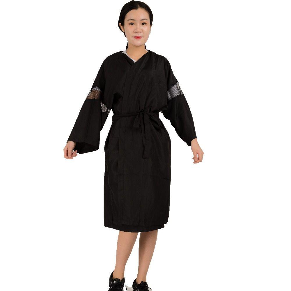 Высокое качество волос форма ткань для работы Красота салон фартук в профессиональной Дизайн Парикмахерская кимоно Y098 Antistastic