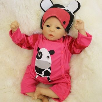 50cm Soft Silicone Reborn Baby Girl Dolls Toy For Sale Cheap 20inch Vinyl Newborn Alive Babies Dolls Like Real Child Play House