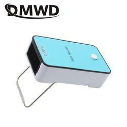 DMWD Portable MINI Heater for warming hand Electric Air Warmer Heating Winter Keep Warm Desk heating Fan for Office Home EU plug