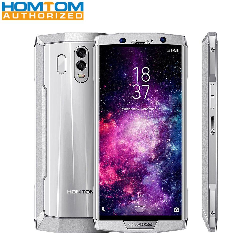 HOMTOM HT70 4G Smartphone 6,0 zoll Android 7.0 MTK6750T Octa Core 1,5 GHz 4 GB RAM 64 GB ROM Dual hinten Kameras 10000 mAh Batterie Große