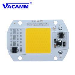 Светодиодная светодио дный лампа COB интегрированная Высокая мощность свет AC220V 110 В лампы с умным IC драйвером 30 Вт 50 Вт прожектор белый/теплый...