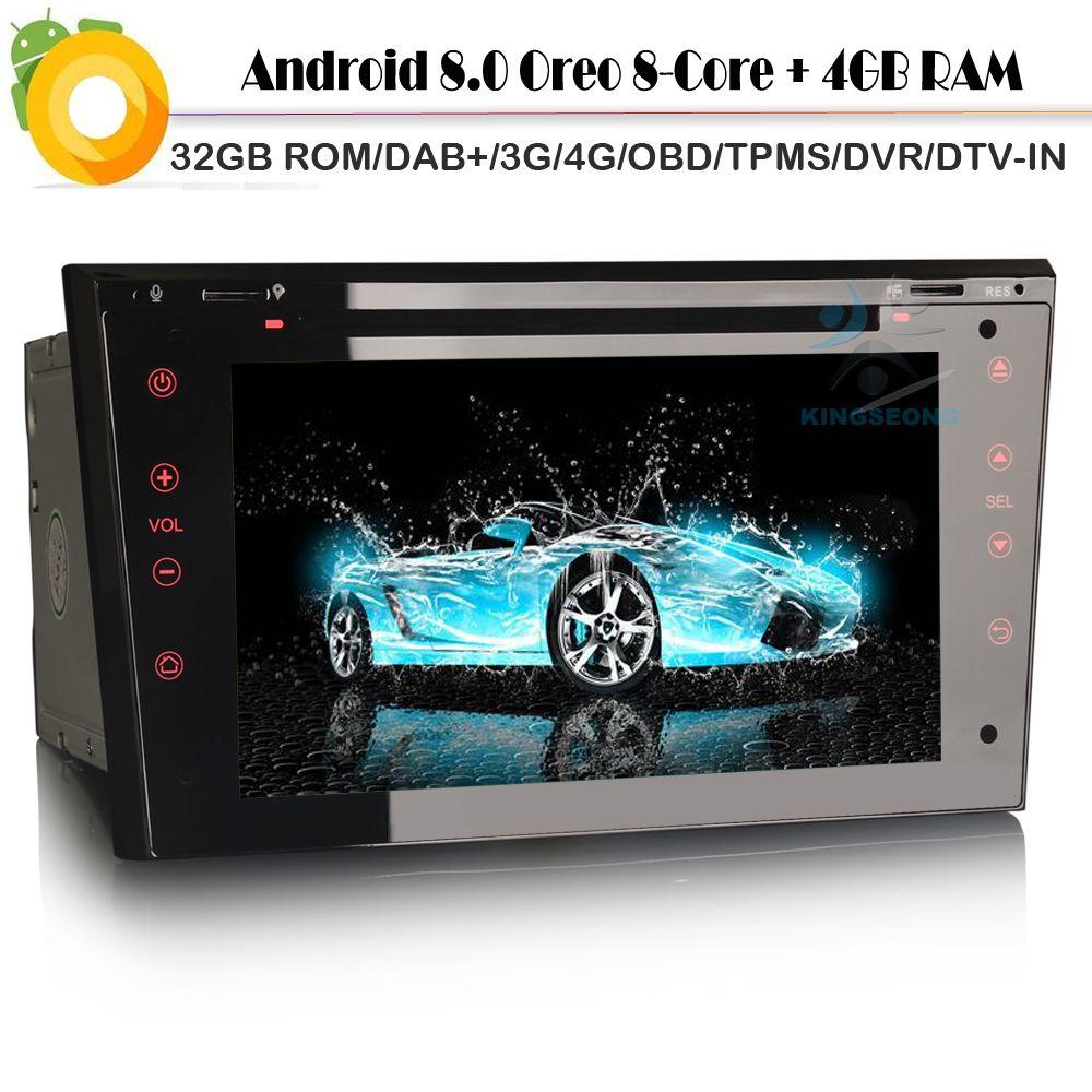 8 Core Android 8.0 Autoradio DAB+ Car GPS Navigation for Opel Tigra TwinTop Vectra C Vivaro WiFi 4G Radio BT DVD OBD SD DVT-IN