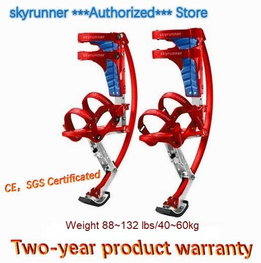 Skyrunner Für Menschen Gewicht 88 ~ 132 £/40 ~ 60 kg Rot Sprungstelzen/Skyrunner/Jump schuhe/Fliegende Schuhe/kängurusprung