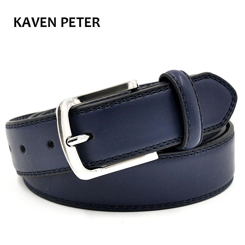 Mens Luxury Waist Belts Man Designer Belts High Quality With Double Stitching More Color Simple Classic Belt Free Shipment