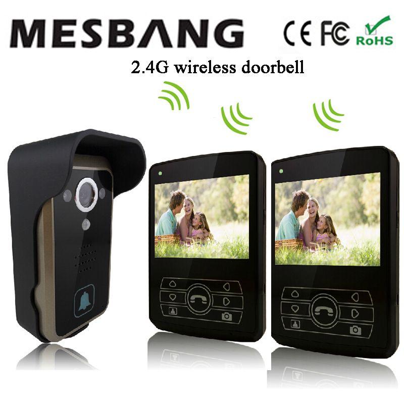 2017 Mesbang villa Wireless ip video door bell system free shipping
