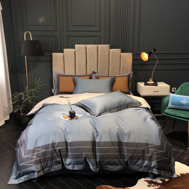 1000TC Ägyptischer Baumwolle Luxus Duver abdeckung Bett set KÖNIGIN KÖNIG GRÖßE Bettwäsche Set mit Bett blatt oder Ausgestattet blatt Kissen shams