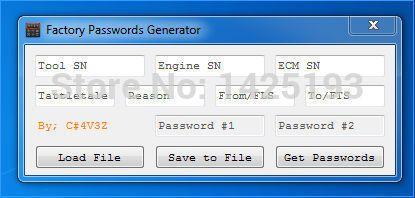 Neue ET FABRIK PASSWÖRTER GENERATOR [USB dongle] Unterstützung Windows 2003/XP/Vista/7/8/10 für katze