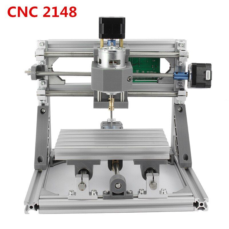 CNC 2418 GRBL Control Machine DIY Working Area 24x18x4.5cm 3 Axis Pcb Pvc Milling Machine Wood Router Carving Engraver