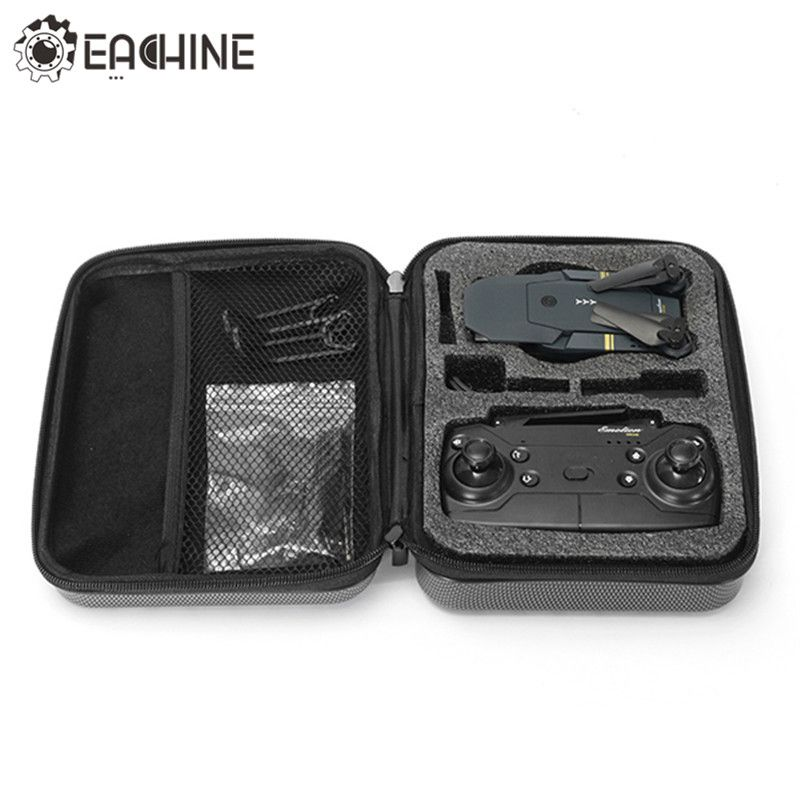 New Arrival Hard Shell Waterproof Carrying Case <font><b>Storage</b></font> Box Handbag for Eachine E58 RC Drone Quadcopter