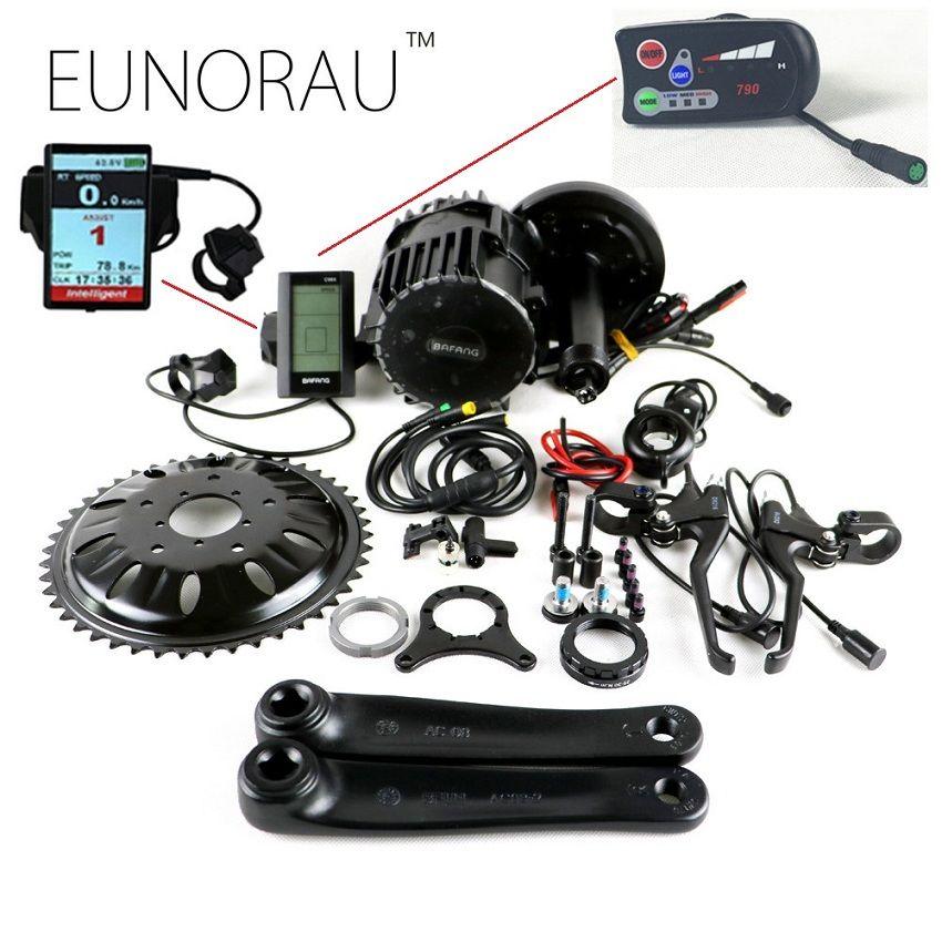 8fun/bafang 48v1000w BBS03 BBSHD elektro-fahrrad motor-kit für tretlager 68mm 100mm 110mm 120mm bike