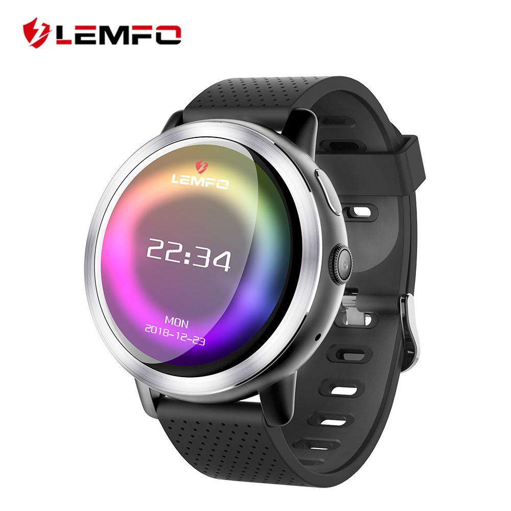 LEMFO LEM8 4G Smart Watch Android 7.1.1 GPS Smartwatch Men 2GB 16GB 580Mah Battery 1.39 Inch AMOLED Screen Sport Watch