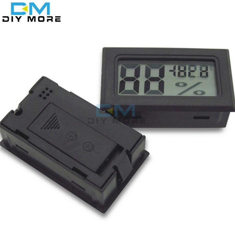 1 PCS Mini LCD Digital Thermometer Hygrometer Temperature Indoor Convenient Temperature Sensor Humidity Meter Gauge Instruments