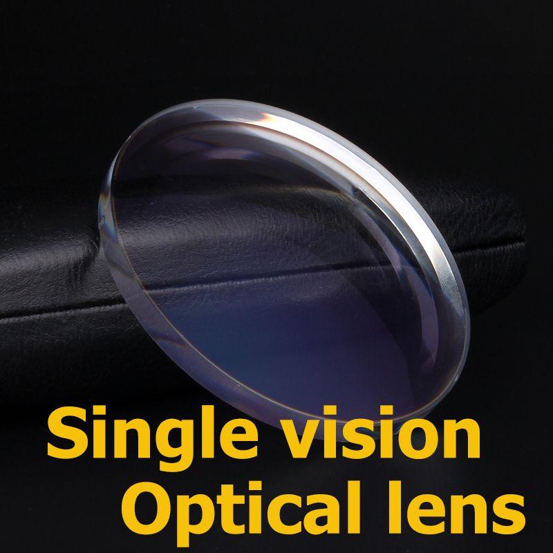 Boer prescription lentilles à vision unique anti-rayons bleus myopie photochromique lunettes lentille MR-8 sans monture lunettes optiques