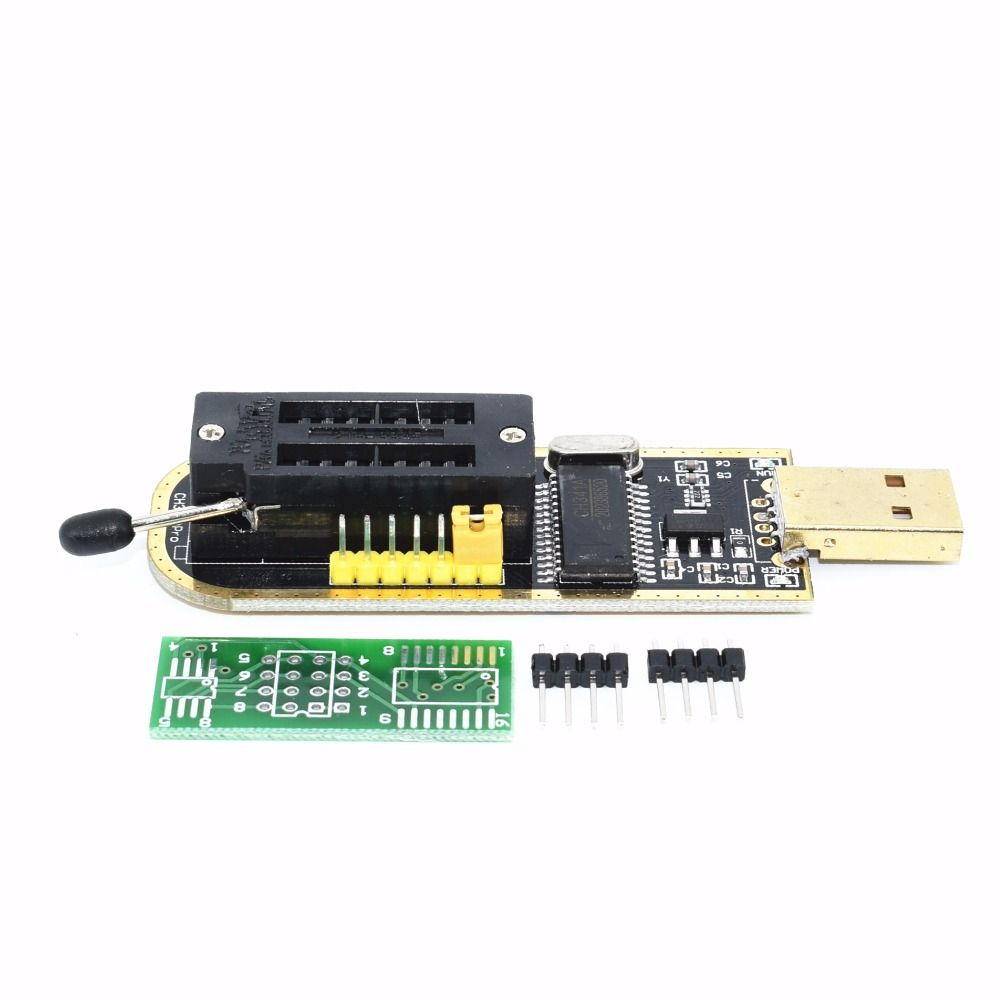TENSTAR ROBOT CH341A 24 25 Series EEPROM Flash BIOS USB Programmer with Software & Driver