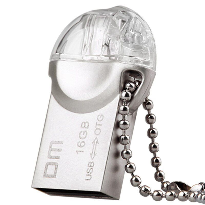 OTG USB Flash drive PD002 8 GB 16 GB 32 GB USB2.0 avec double connecteur utilisé pour OTG smartphone et ordinateur 100% étanche