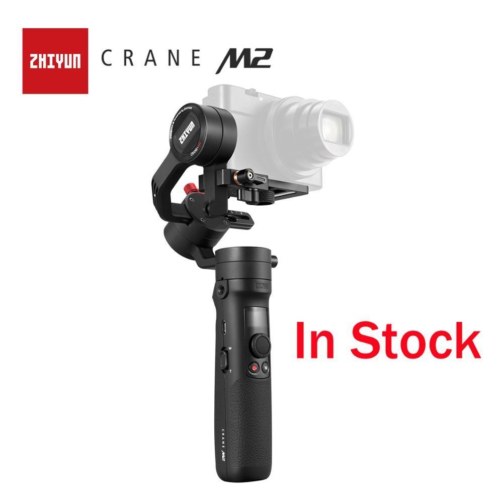 ZHIYUN Offizielle Kran M2 Gimbals für Smartphones Spiegellose Action Kompakte Kameras Neue Ankunft 500g Handheld Stabilisator In Lager