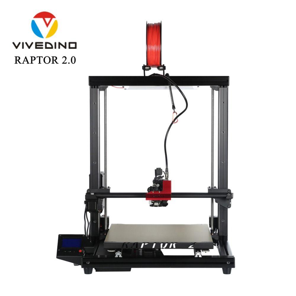 VIVEDINO Raptor 2,0 Große 3D Drucker mit BLTouch Auto Bett Nivellierung