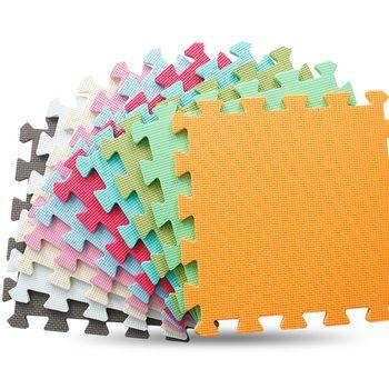CCM 6 pc/ensemble Bébé EVA Mousse Tapis de Jeu de Puzzle/enfants Tapis Jouets tapis pour enfants en Exercice Carreaux De Sol, chaque: 30 cm X 30 cm