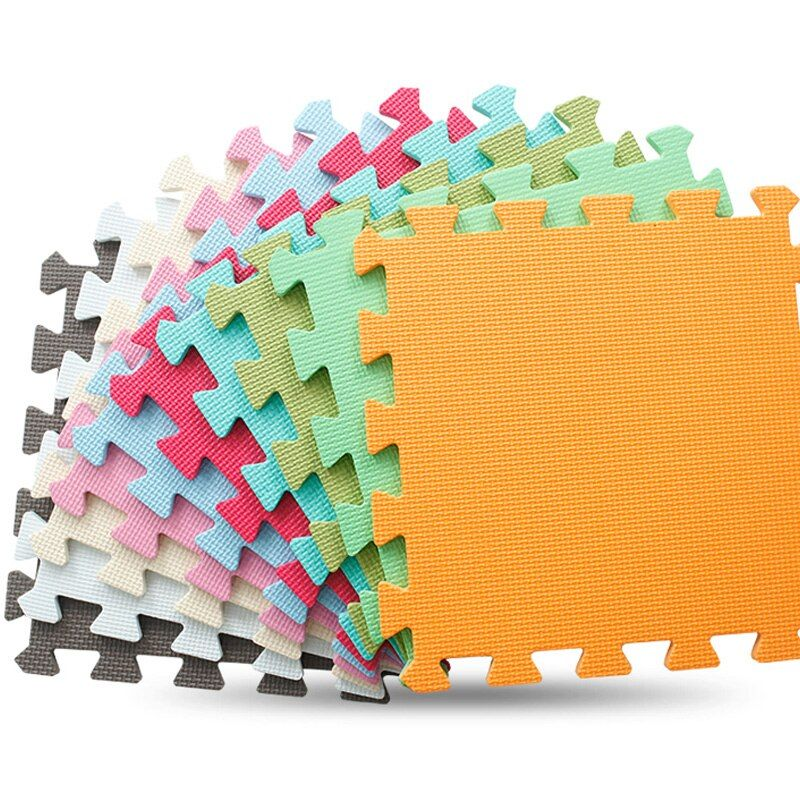 JCC 6 pièce/ensemble bébé EVA mousse Puzzle tapis de jeu/enfants tapis jouets tapis pour enfants verrouillage exercice carrelage, chacun: 30 cm X 30 cm