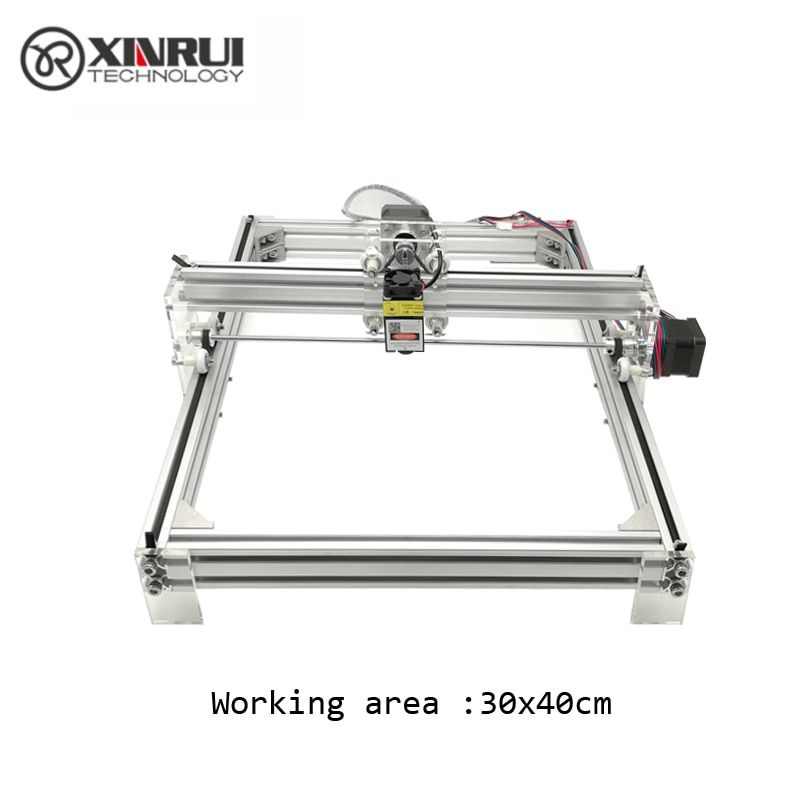 500 mw/2500 mw Desktop DIY Violet Laser Gravur Maschine Bild CNC Drucker, arbeits bereich 40 cm x 30 cm