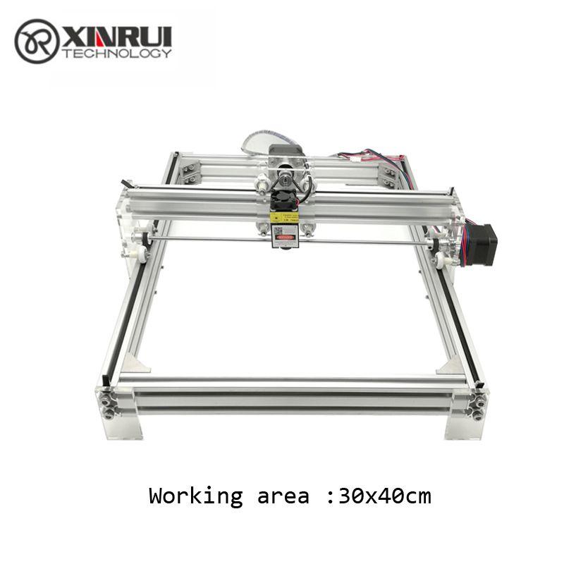 500mw/2500mw Desktop DIY Violet Laser Engraving Machine Picture CNC Printer, working area 40cmx30cm