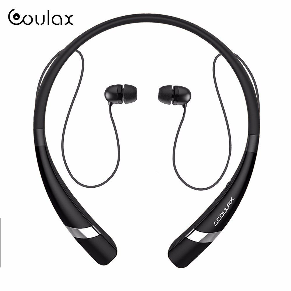 COULAX Wireless Bluetooth Headset Stereo Headphone Bluetooth Earphone with Microphone earph for mobile phone for iPhone Android