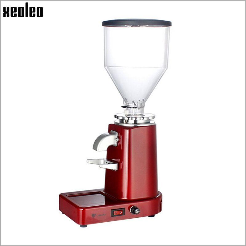 Xeoleo Elektrische kaffeemühle Kommerziellen & hause Kaffee Bean Grinder maschine Fräsen maschine Professionelle Kaffee Pulver Miller
