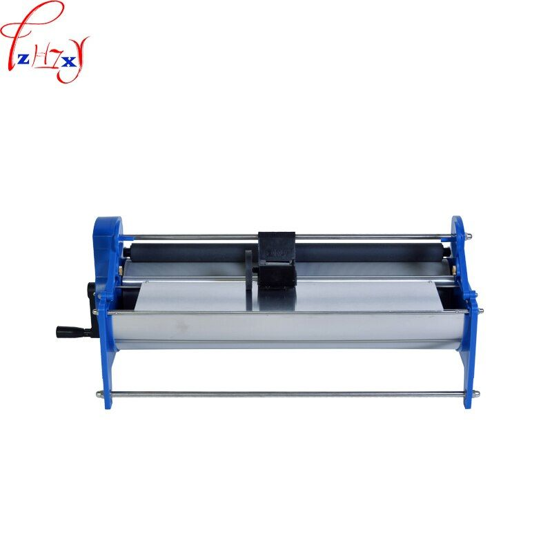 53cm manual type wallpaper with glue machine 8L wallpaper gluing machine wall paper glue sizing machine
