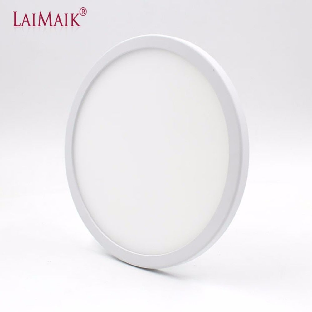 LAIMAIK LED Panel Licht AC220V 6 watt 8 watt 15 watt 20 watt Runde LED Panel Licht Einbau LED Decke licht Spot Downlight Dith Led-treiber