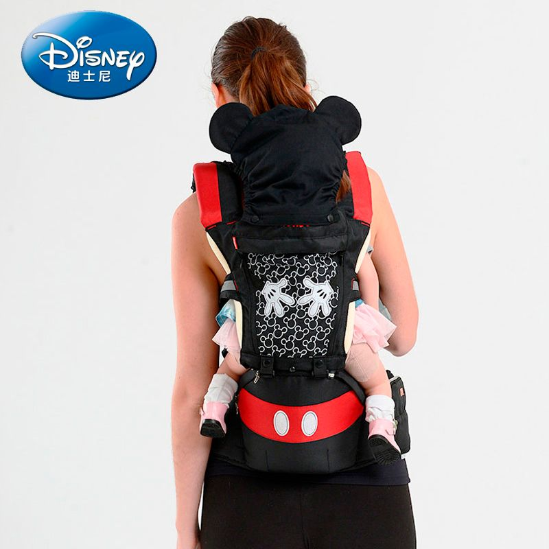 Disney Baby Träger Atmungsaktive Multifunktions Vorne Infant Baby Sling Rucksack Pouch Wrap Disney Zubehör