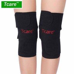 * Tcare 1 Pasang Turmalin Selfheating Pengunjung Legging Brace Band Magnetic Terapi Lutut Massager Sabuk Dukungan Kesehatan Kaki Perawatan Alat