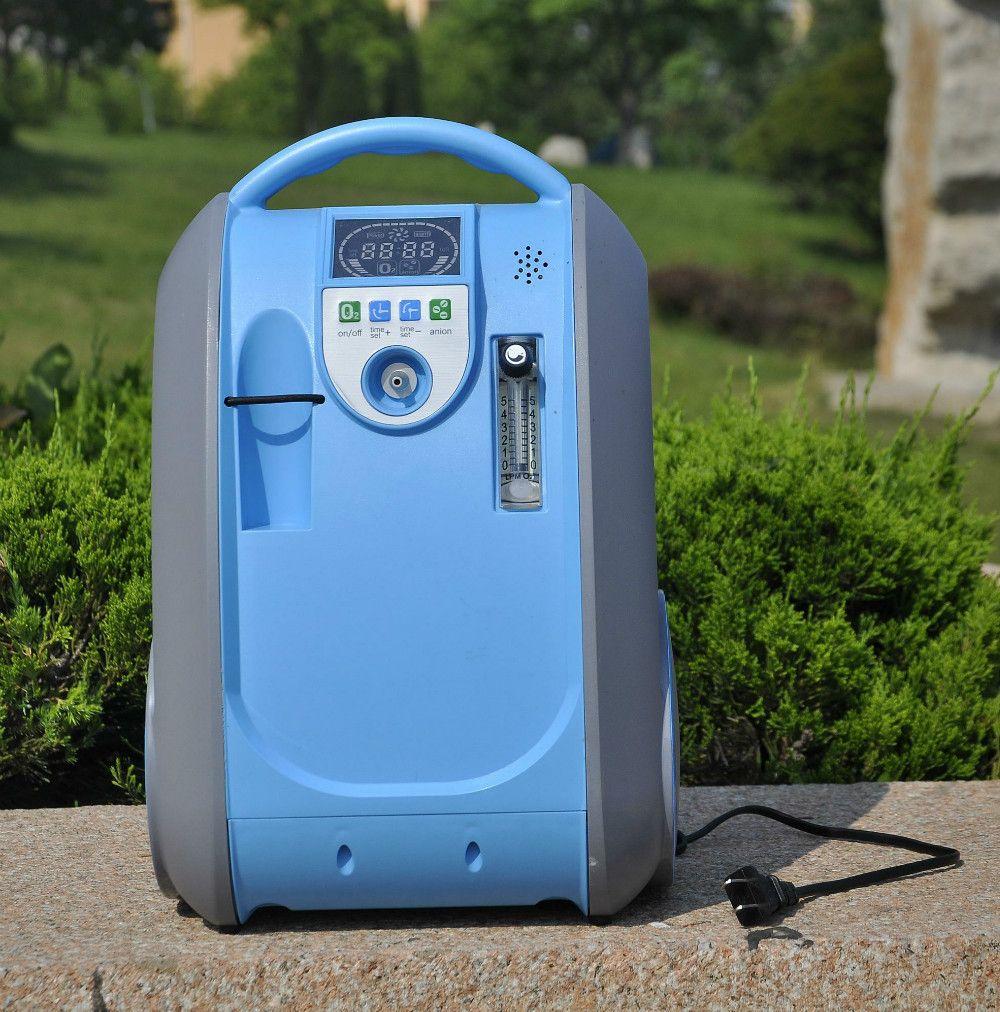 Luftbefeuchter luftreiniger tragbaren sauerstoff-konzentrator verwendet für copd-patienten mit sauerstoff anion funktion