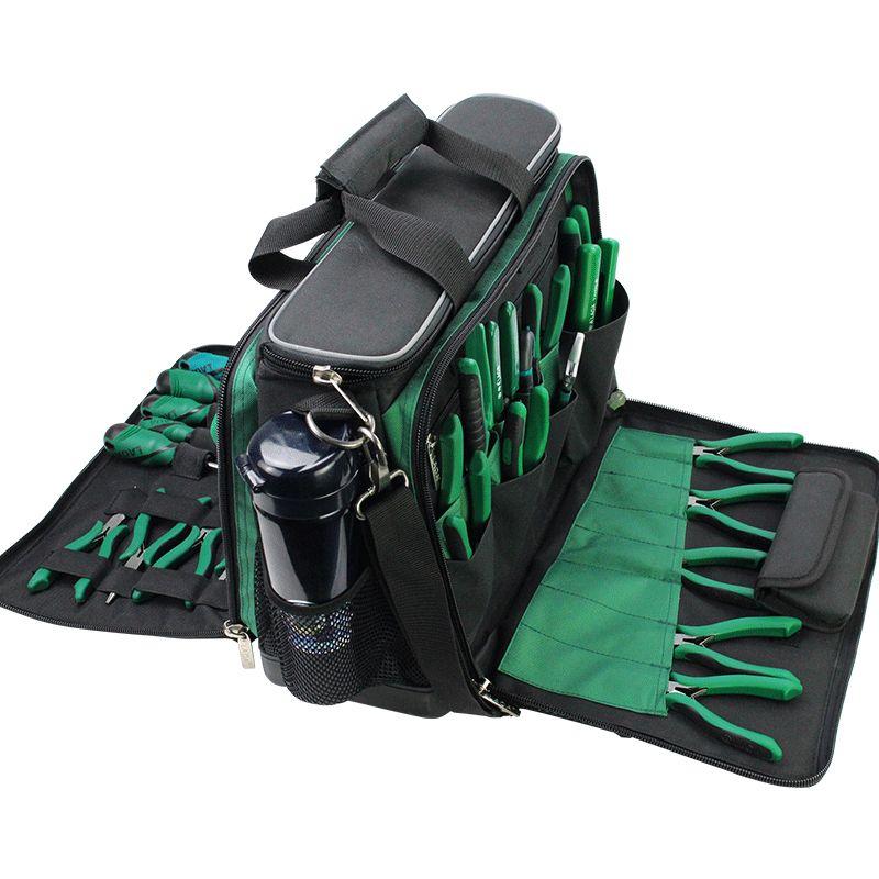 LAOA Multi-funktion Werkzeug Kit Wartung Tasche Nach-sales-Schulter tasche große dicke leinwand Oxford tuch elektrische taschen