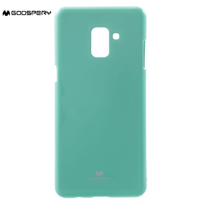 MERCURY GOOSPERY for Galaxy a8 A8plus 2018 case Glitter Powder Jelly TPU cover for Samsung Galaxy A 8 A8 Plus 2018 funda coque