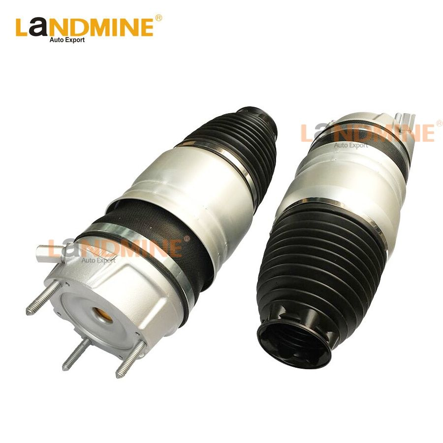 Free Shipping 2pcs 2011-2013 Front Air Spring Suspension Kit Air Strut Fit Audi Q7 Porsche Cayenne VW TOUAGE 7P6616040N(39N)