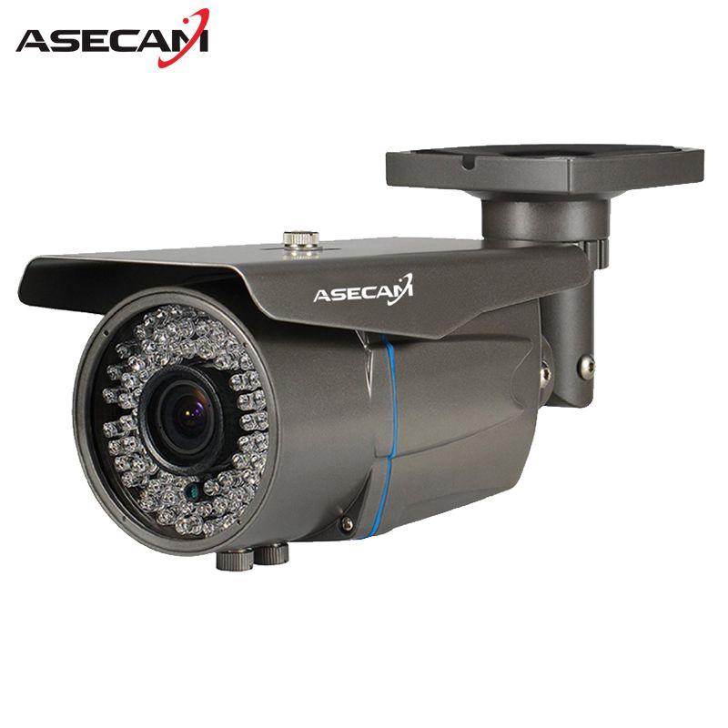 2MP HD CCTV AHD Camera 1080p Zoom 2.8-12mm Lens Security Varifocal Bullet Surveillance 78* LED Infrared Outdoor Waterproof