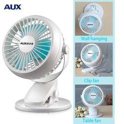 Aux mini ventilateur Mini lit portable muet foyer d'étudiants clip ventilateur de bureau USB ventilateur électrique table éponte Table Dossier ventilateur