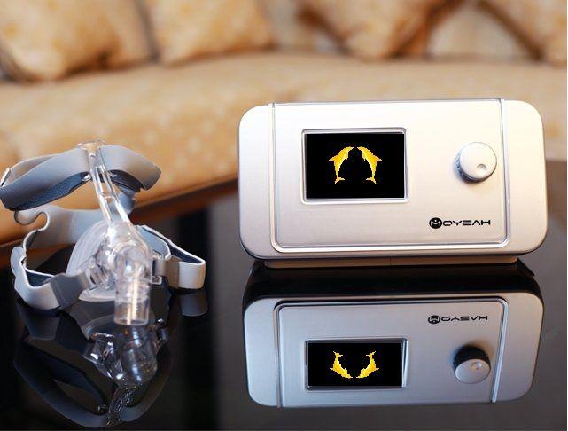 MOYEAH Auto CPAP Maschine Medizinische Geräte Mit Nasen Maske Volle Gesicht Einsatz SD Karte Für Schlafapnoe Nasen Anti Schnarchen